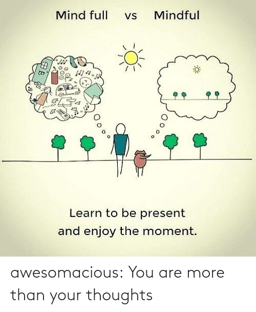 Than: awesomacious:  You are more than your thoughts
