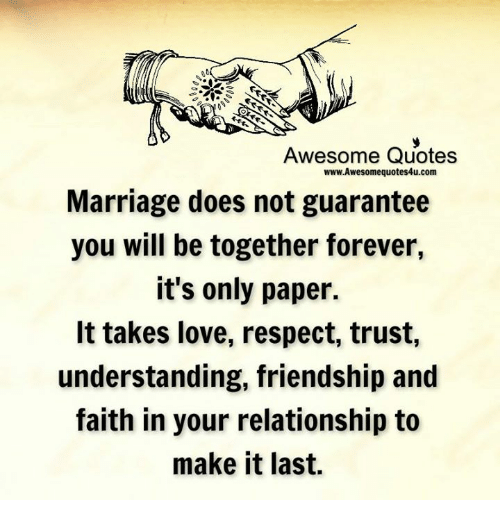 Awesome Quotes wwwAwesomequotes4ucom Marriage Does Not ...