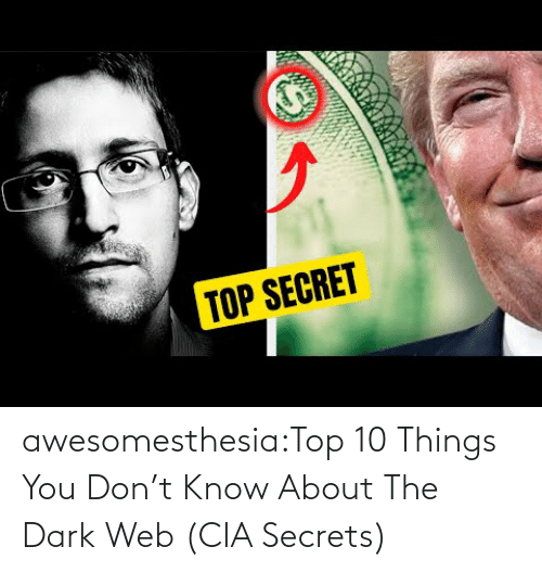 web: awesomesthesia:Top 10 Things You Don't Know About The Dark Web (CIA Secrets)