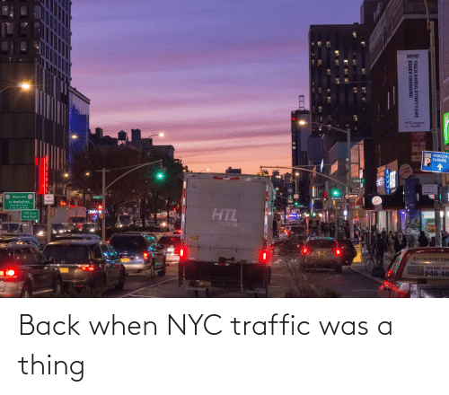 Traffic: Back when NYC traffic was a thing