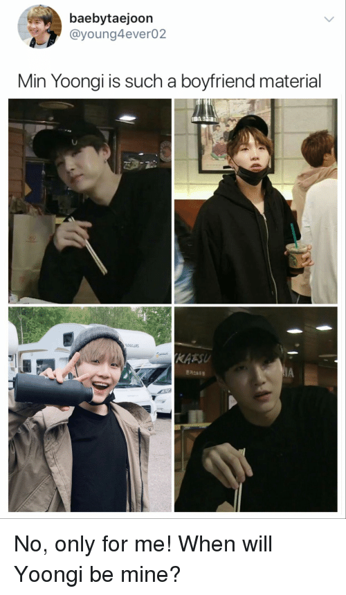 what is boyfriend material