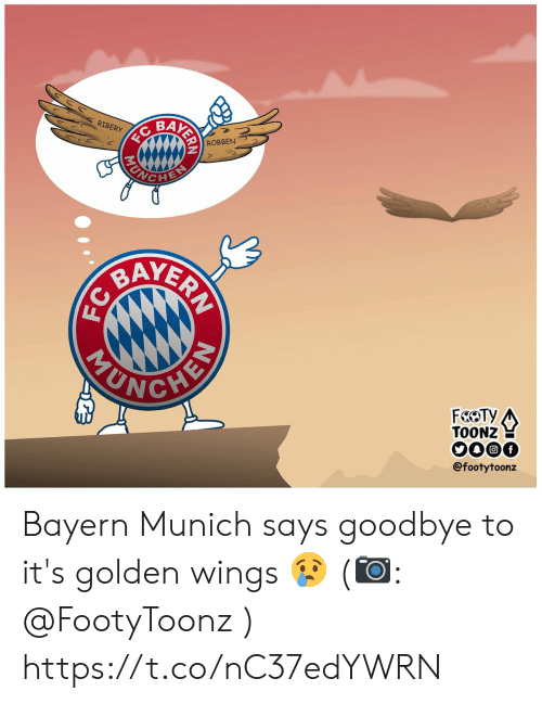 yer: BAK  RIBERY  ROBBEN  YER  TOONZ  @footytoonz Bayern Munich says goodbye to it's golden wings 😢 (📷: @FootyToonz ) https://t.co/nC37edYWRN