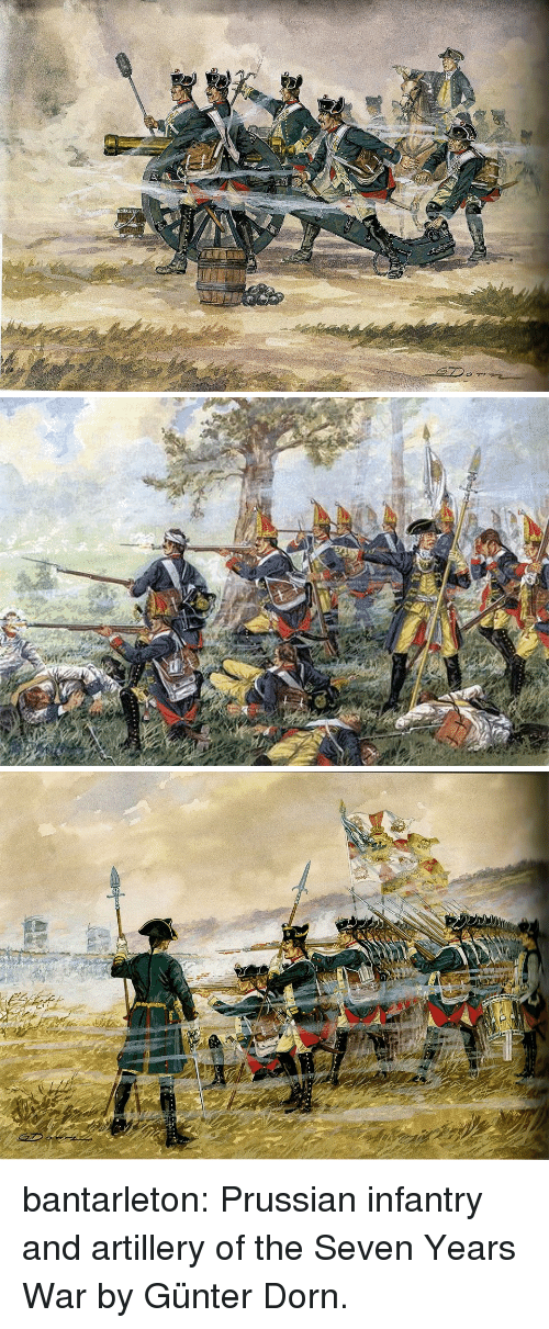 Prussian: bantarleton:  Prussian infantry and artillery of the Seven Years War by Günter Dorn.