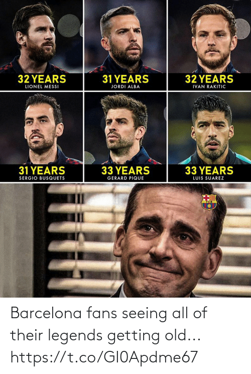 soccer: Barcelona fans seeing all of their legends getting old... https://t.co/GI0Apdme67