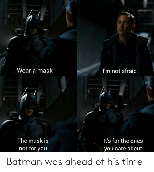 Batman: Batman was ahead of his time
