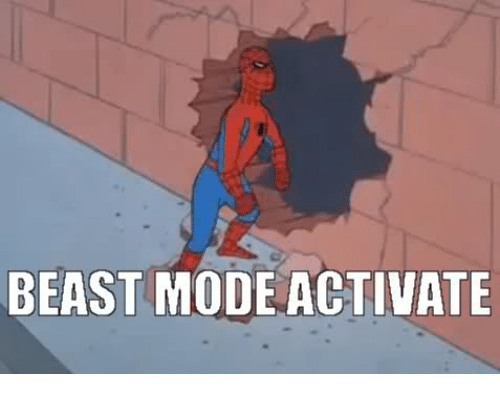 25 best memes about beast mode activate beast mode activate