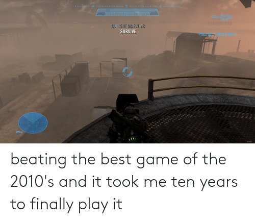 finally: beating the best game of the 2010's and it took me ten years to finally play it