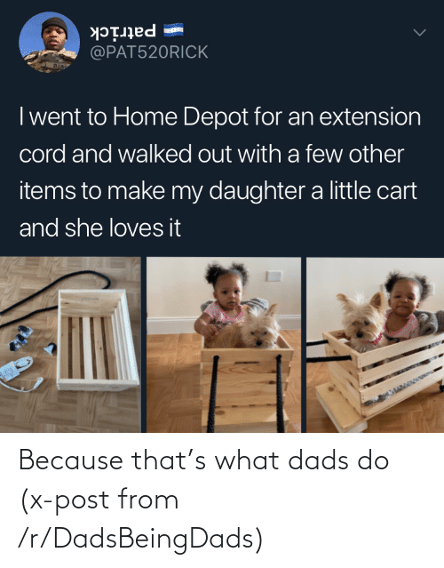 dads: Because that's what dads do (x-post from /r/DadsBeingDads)