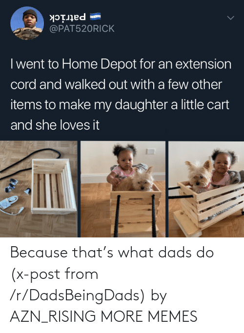 dads: Because that's what dads do (x-post from /r/DadsBeingDads) by AZN_RISING MORE MEMES