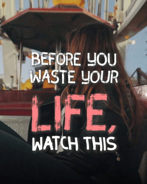 Life, Memes, and Watch: BEFORE YOU  WASTE YOUR  LIFE  WATCH THIS