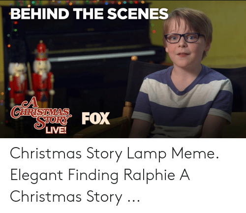 Christmas Story Meme.25 Best Memes About Christmas Story Lamp Christmas