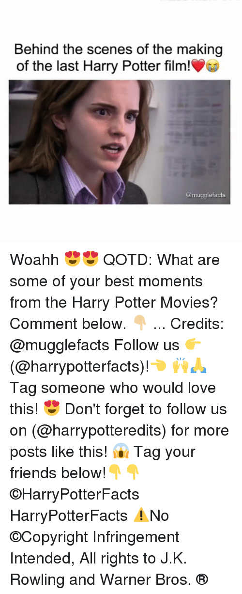Tag Your Friends: Behind the scenes of the making  of the last Harry Potter film!  @mugglefacts Woahh 😍😍 QOTD: What are some of your best moments from the Harry Potter Movies? Comment below. 👇🏼 ... Credits: @mugglefacts Follow us 👉(@harrypotterfacts)!👈 🙌🙏 Tag someone who would love this! 😍 Don't forget to follow us on (@harrypotteredits) for more posts like this! 😱 Tag your friends below!👇👇 ©HarryPotterFacts HarryPotterFacts ⚠No ©Copyright Infringement Intended, All rights to J.K. Rowling and Warner Bros. ®