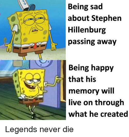 Being Sad About Stephen Hillenburg Passing Away Being Happy That His