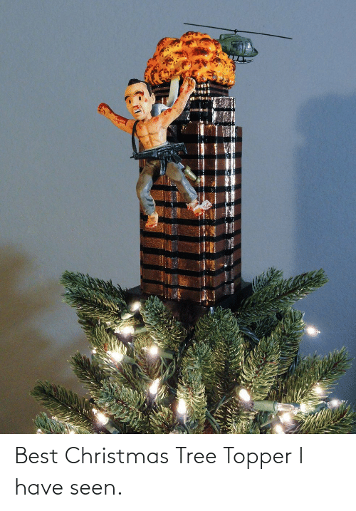 Have Seen: Best Christmas Tree Topper I have seen.