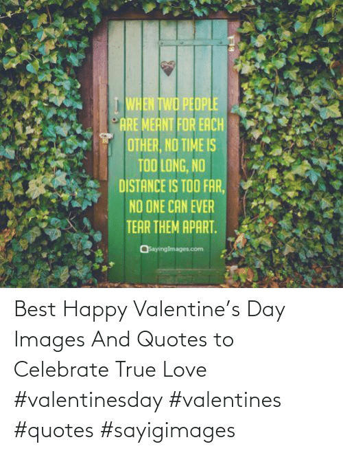 Quotes: Best Happy Valentine's Day Images And Quotes to Celebrate True Love #valentinesday #valentines #quotes #sayigimages