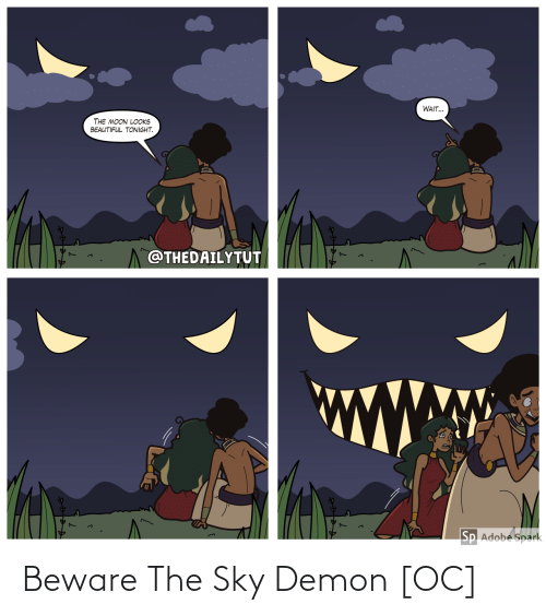 sky: Beware The Sky Demon [OC]