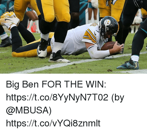 Memes, 🤖, and Big Ben: Big Ben FOR THE WIN: https://t.co/8YyNyN7T02 (by @MBUSA) https://t.co/vYQi8znmlt