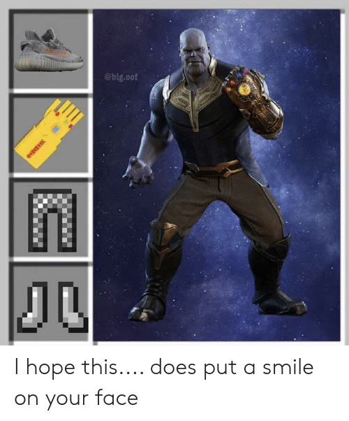 I Hope This Does Put a Smile on Your Face | Reddit Meme on