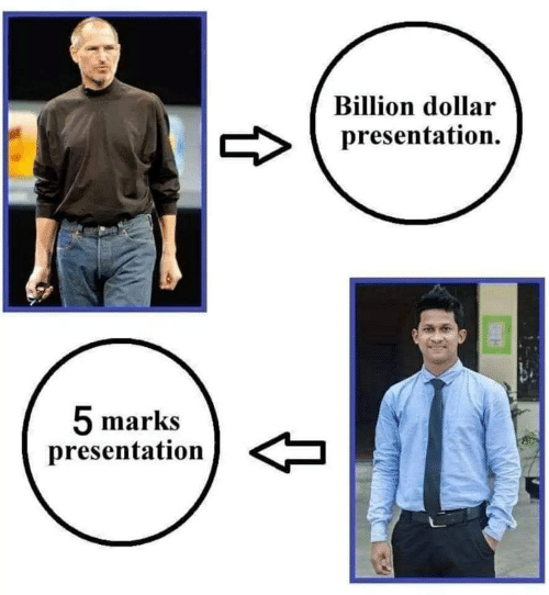 Billion, Marks, and  Presentation: Billion dollar  presentation.  5 marks  presentation  t