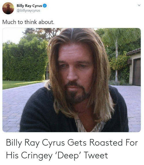 roasted: Billy Ray Cyrus Gets Roasted For His Cringey 'Deep' Tweet