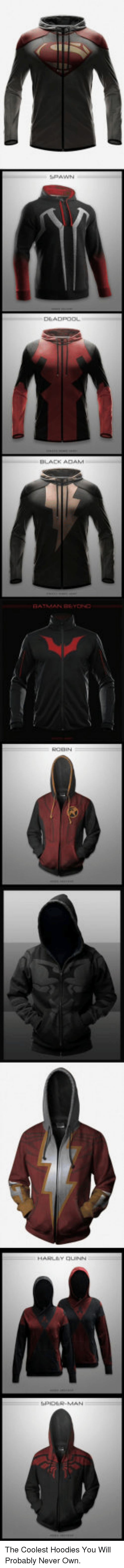 black adam: BLACK ADAM <p>The Coolest Hoodies You Will Probably Never Own.</p>