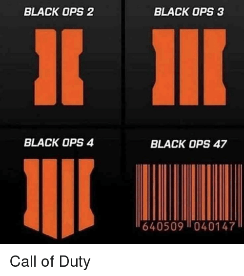 Black, Black Ops 3, and Call of Duty: BLACK OPS 2  BLACK OPS 3  BLACK OPS 4  BLACK OPS 47  640509040147 Call of Duty