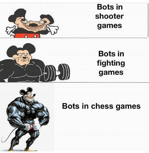 bots: Bots in  shooter  games  Bots in  fighting  games  Bots in chess games