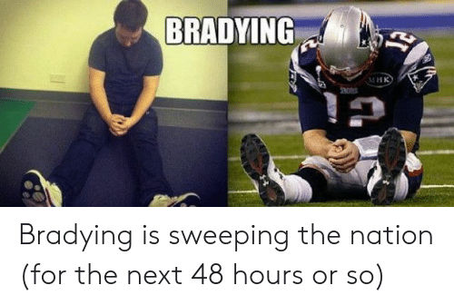Bradying Meme: BRADYING  MHK Bradying is sweeping the nation (for the next 48 hours or so)