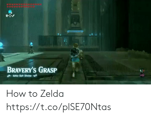 How To, Zelda, and How: BRAVERY'Ss GRASP How to Zelda https://t.co/plSE70Ntas