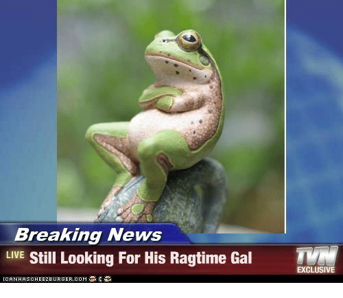 News Live: Breaking News  LIVE Still Looking For His Ragtime Gal T  EXCLUSIVE