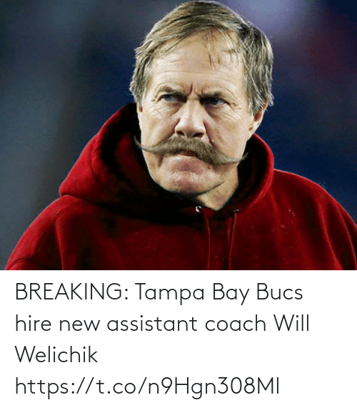 tampa: BREAKING: Tampa Bay Bucs hire new assistant coach Will Welichik https://t.co/n9Hgn308Ml