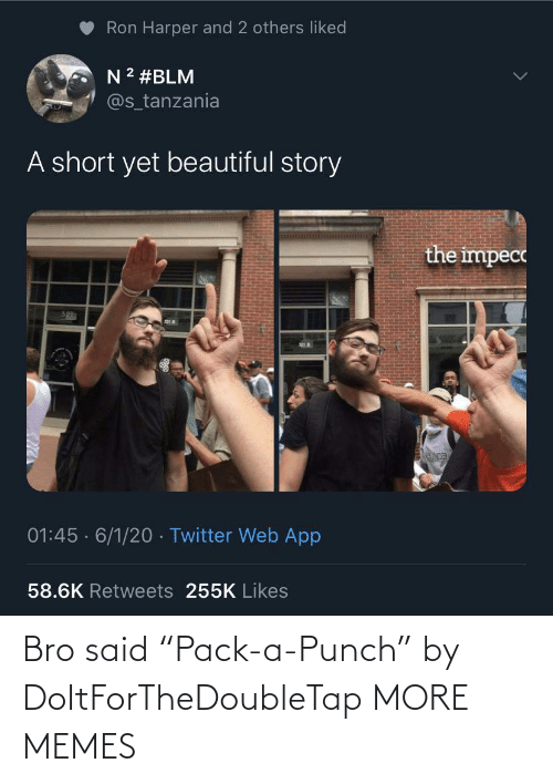 """bro: Bro said """"Pack-a-Punch"""" by DoItForTheDoubleTap MORE MEMES"""