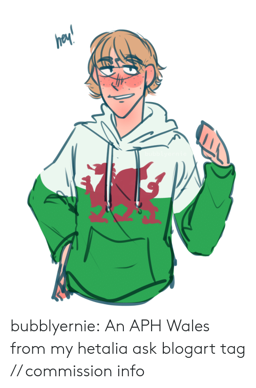 hetalia: bubblyernie:  An APH Wales from my hetalia ask blogart tag // commission info