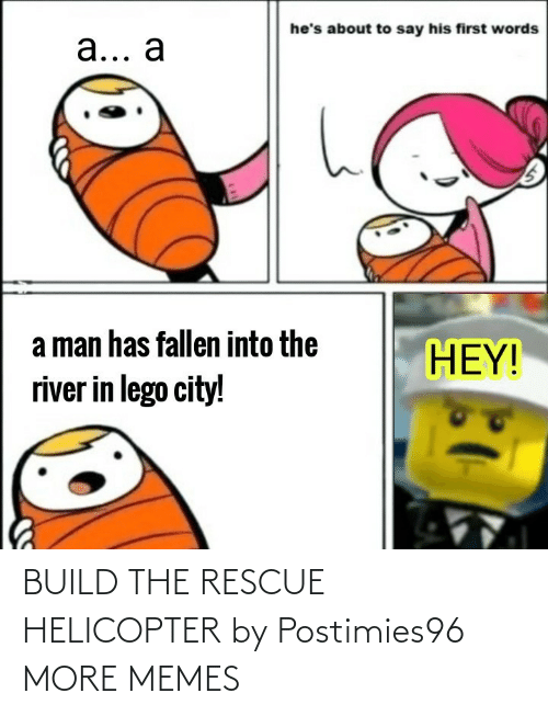 helicopter: BUILD THE RESCUE HELICOPTER by Postimies96 MORE MEMES