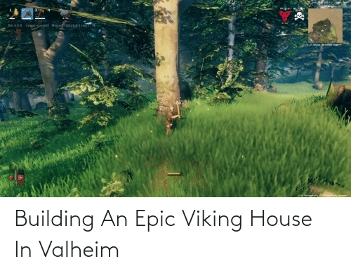 building: Building An Epic Viking House In Valheim