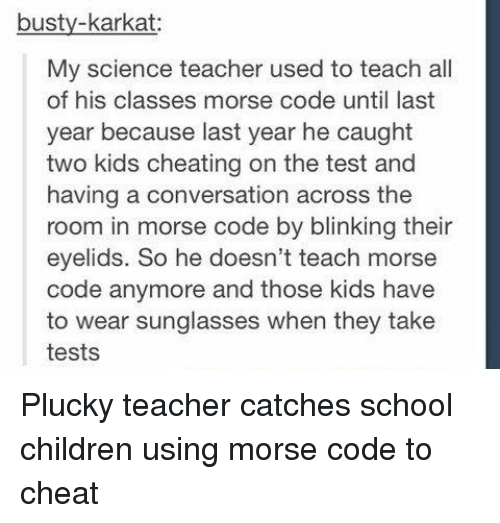 Cheating Children And School Busty Karkat My Science Teacher Used To