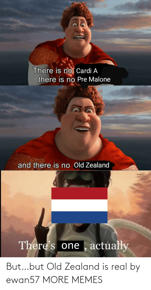Old: But…but Old Zealand is real by ewan57 MORE MEMES