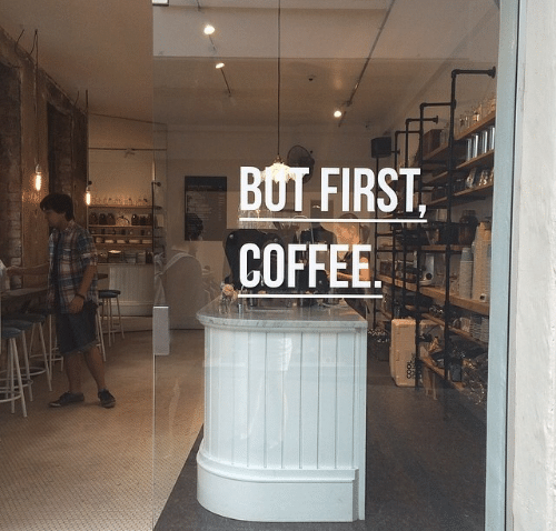 Coffee, First, and But: BUT FIRST  COFFEE