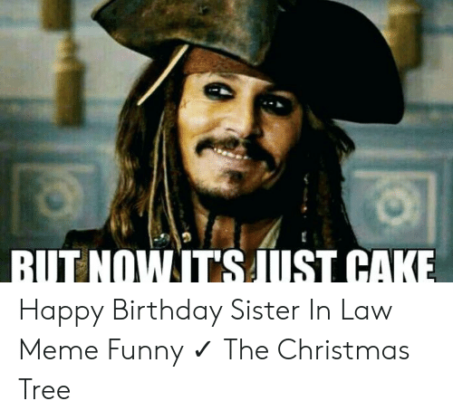 But Nowitsaust Cake Happy Birthday Sister In Law Meme Funny