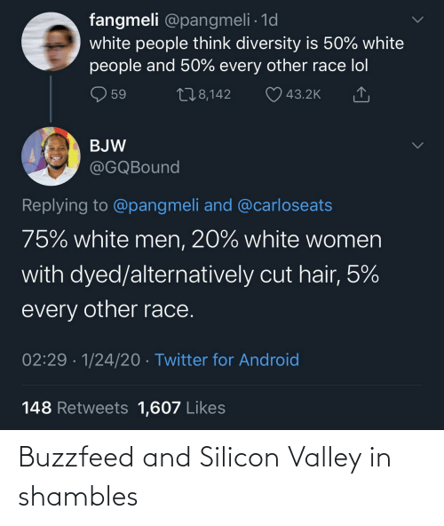 Buzzfeed: Buzzfeed and Silicon Valley in shambles