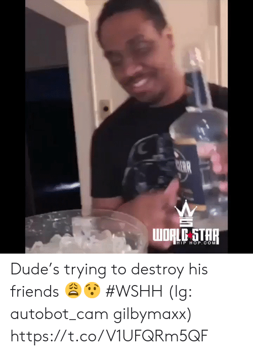 wshh: C  AR  WORLC STAR  HIP HOP.COM Dude's trying to destroy his friends 😩😯 #WSHH (Ig: autobot_cam gilbymaxx) https://t.co/V1UFQRm5QF
