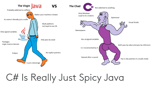 Java: C# Is Really Just Spicy Java