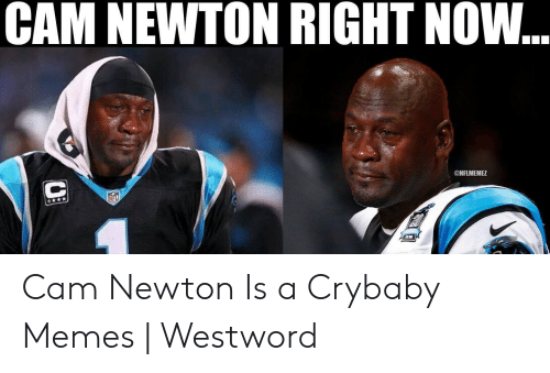 Cam Newton Memes: CAM NEWTON RIGHT NOW...  ONFLMEMEZ  Nr Cam Newton Is a Crybaby Memes | Westword