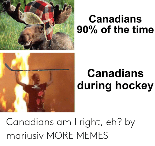 Canadians: Canadians am I right, eh? by mariusiv MORE MEMES