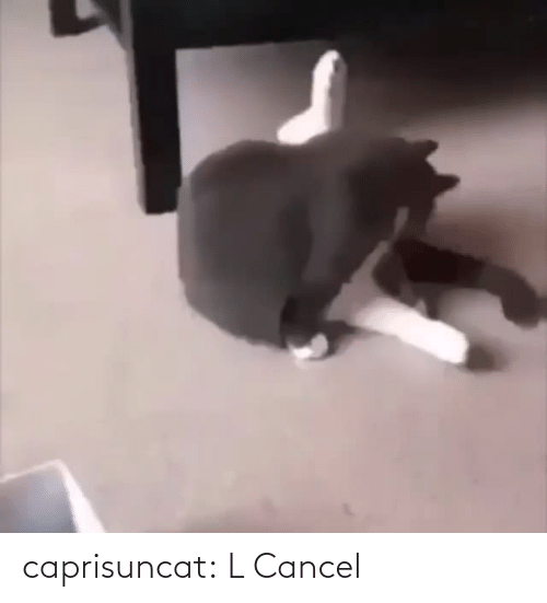 L: caprisuncat: L Cancel