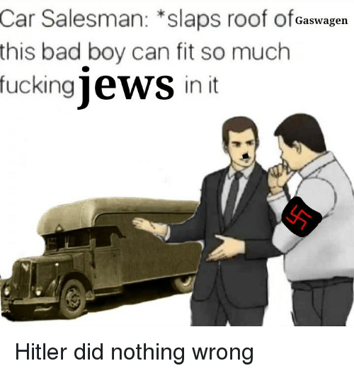 Car Salesman *Slaps Roof Of Caswagen This Bad Boy Can Fit