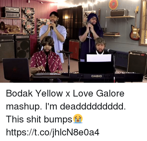 Blackpeopletwitter, Love, and Shit: CASIO Bodak Yellow x Love Galore mashup. I'm deaddddddddd. This shit bumps😭 https://t.co/jhlcN8e0a4