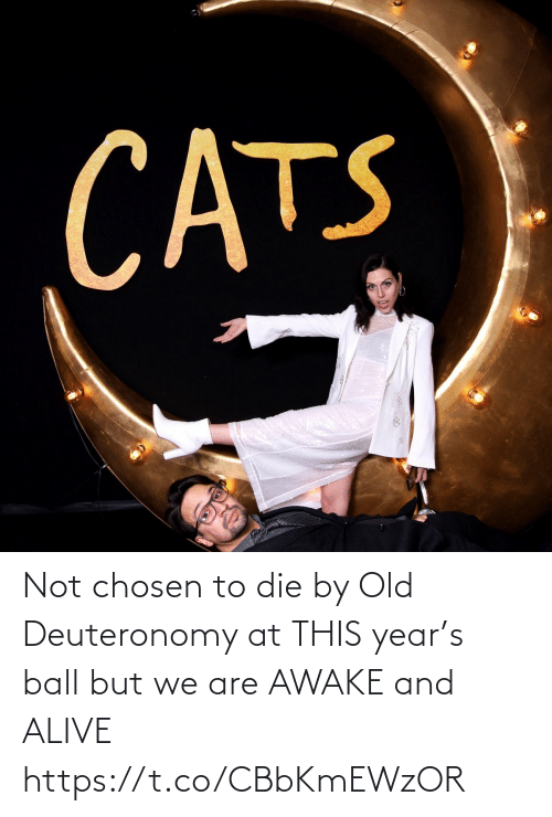 awake: CATS Not chosen to die by Old Deuteronomy at THIS year's ball but we are AWAKE and ALIVE https://t.co/CBbKmEWzOR