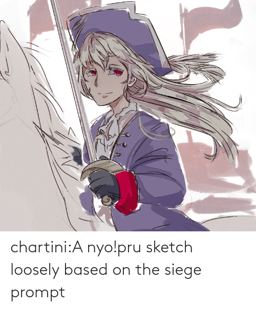 prompt: chartini:A nyo!pru sketch loosely based on the siege prompt