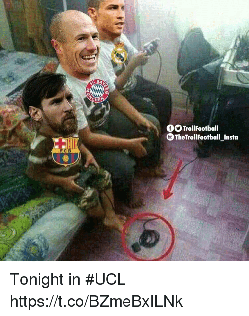Memes, 🤖, and Ucl: CHE  TrollFootball  TheTrollFootball Insta Tonight in #UCL https://t.co/BZmeBxILNk
